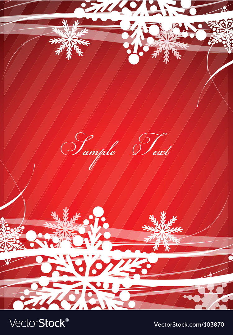 Copy space christmas vector | Price: 1 Credit (USD $1)