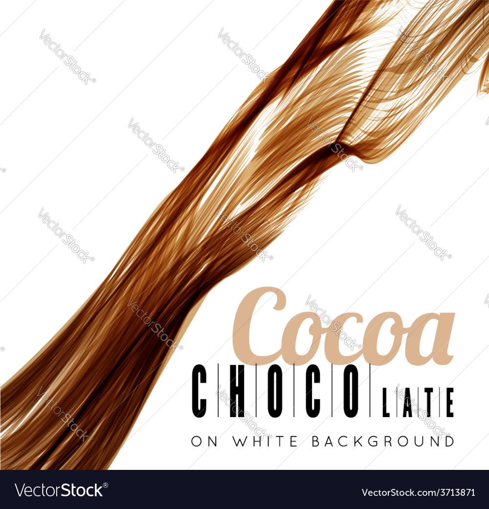 Chocolate splash vector | Price: 1 Credit (USD $1)