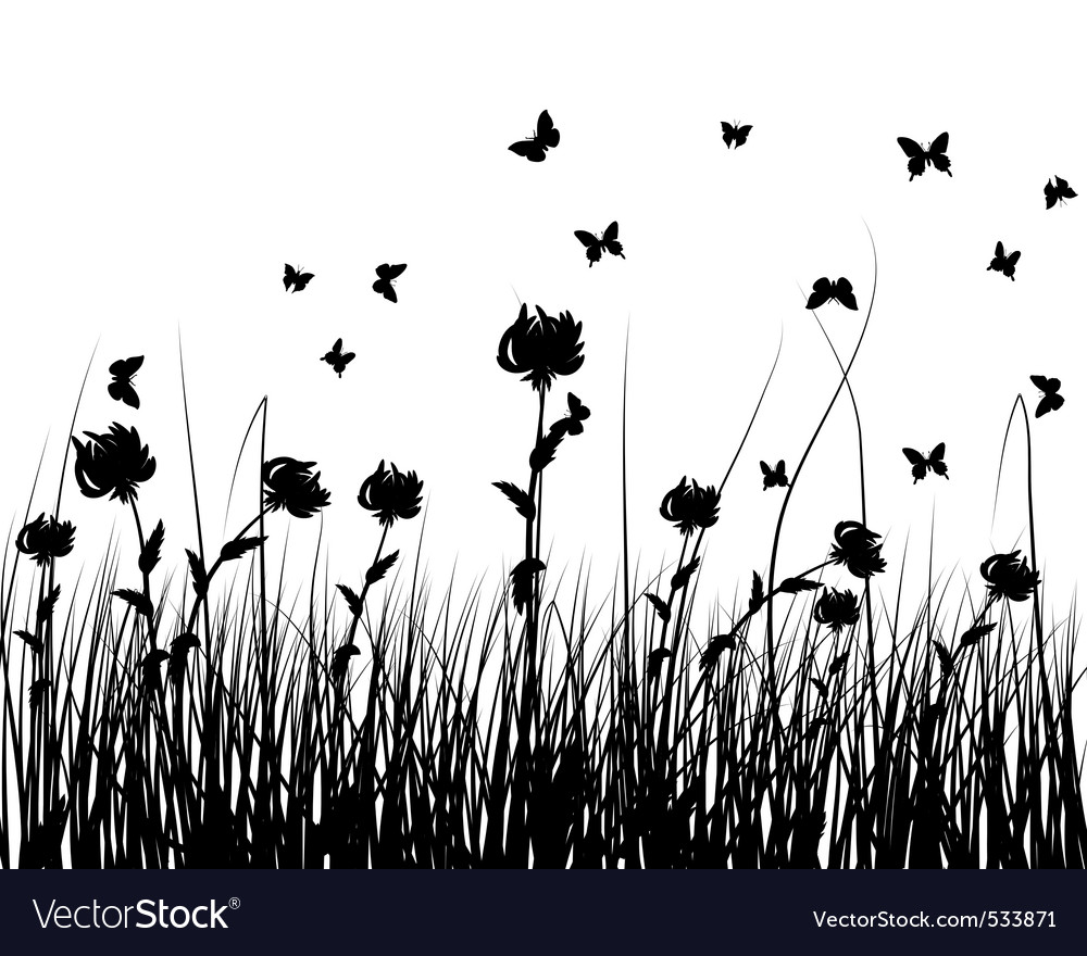 Grass silhouettes vector   Price: 1 Credit (USD $1)