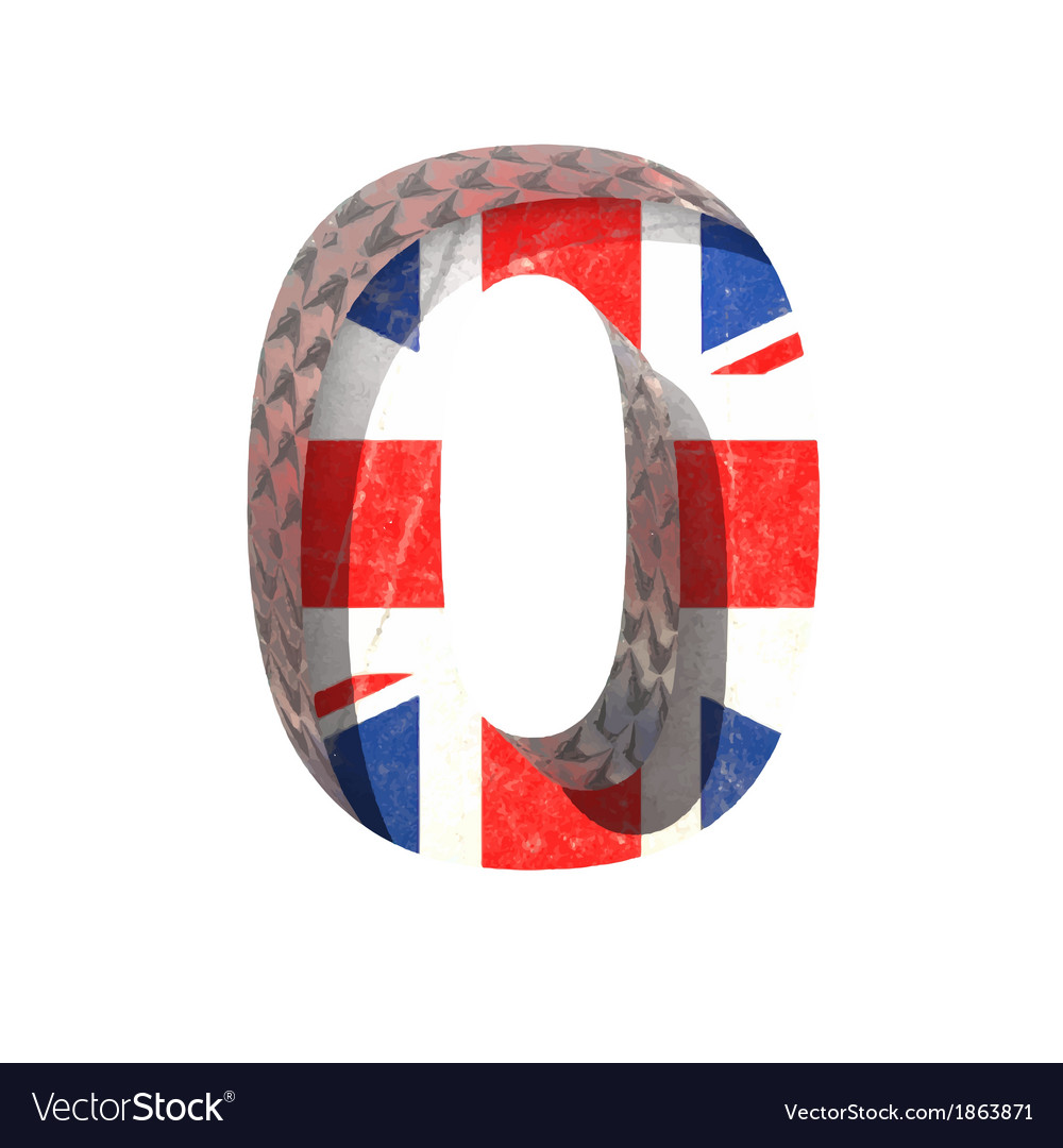 Great britain cutted figure 0 paste to any vector   Price: 1 Credit (USD $1)