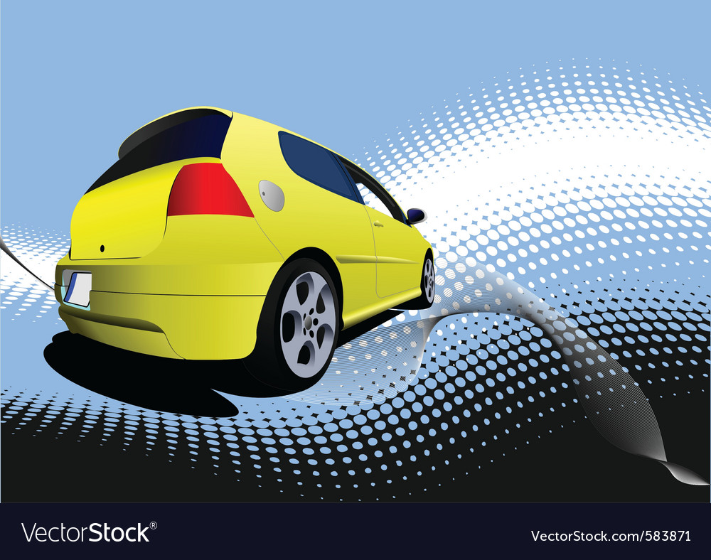 Small car vector   Price: 1 Credit (USD $1)