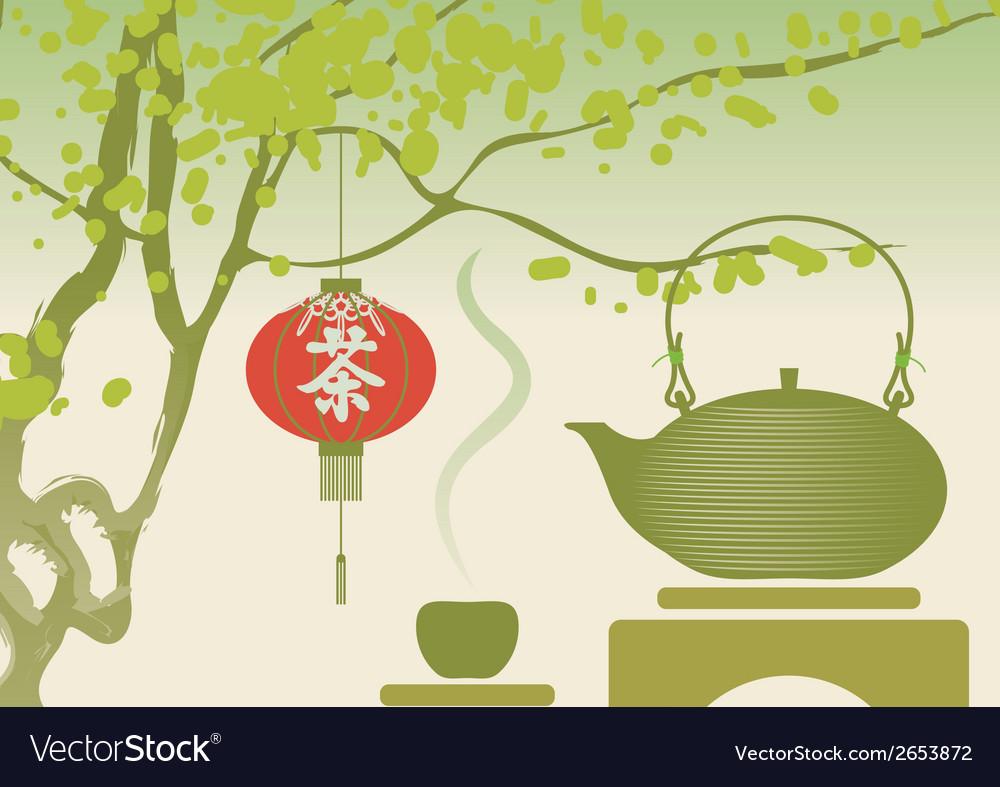 China tea vector   Price: 1 Credit (USD $1)