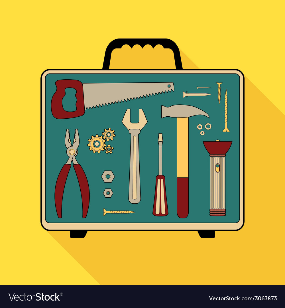 Building tools vector | Price: 1 Credit (USD $1)