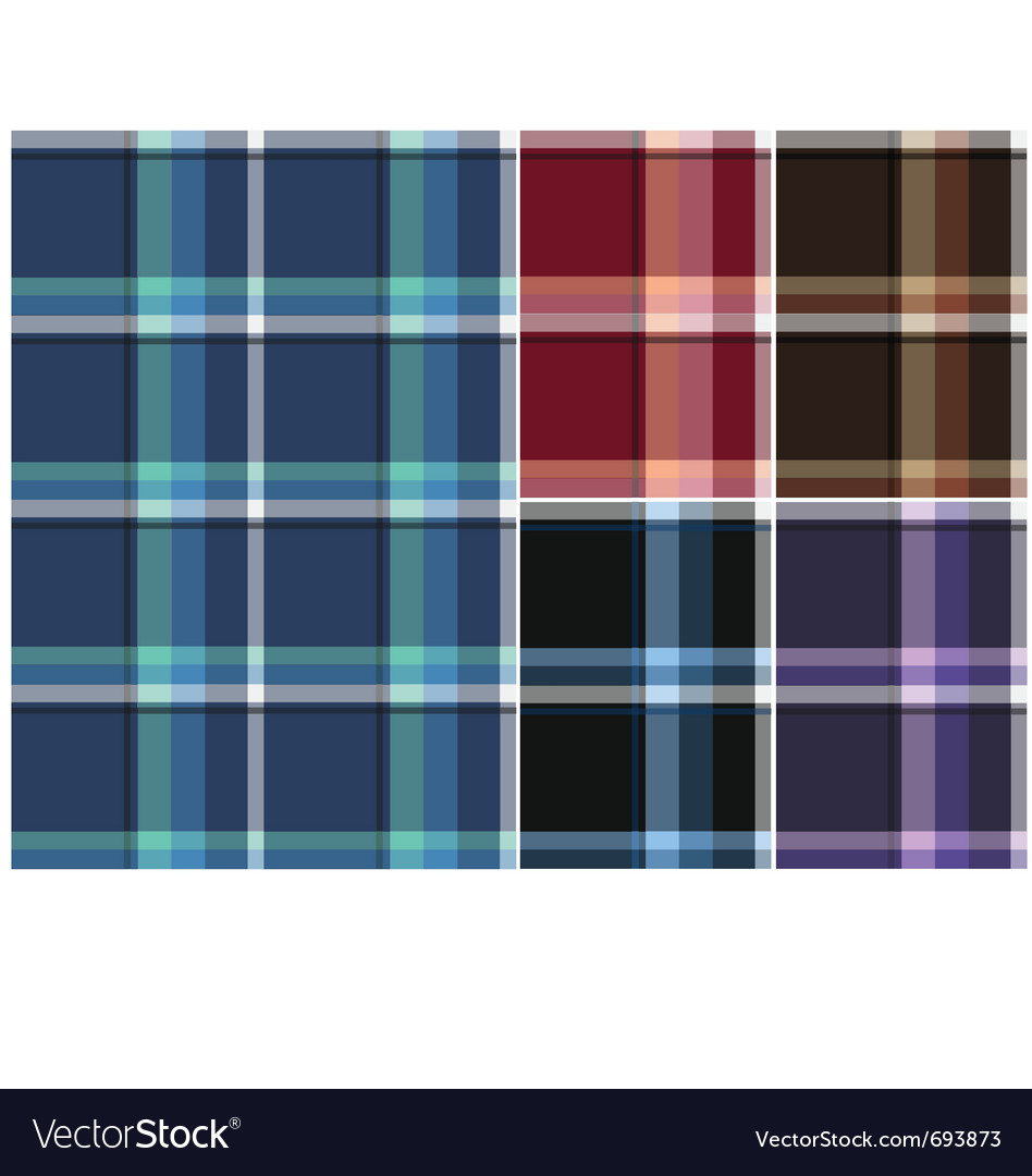 Check fabric pattern vector | Price: 1 Credit (USD $1)