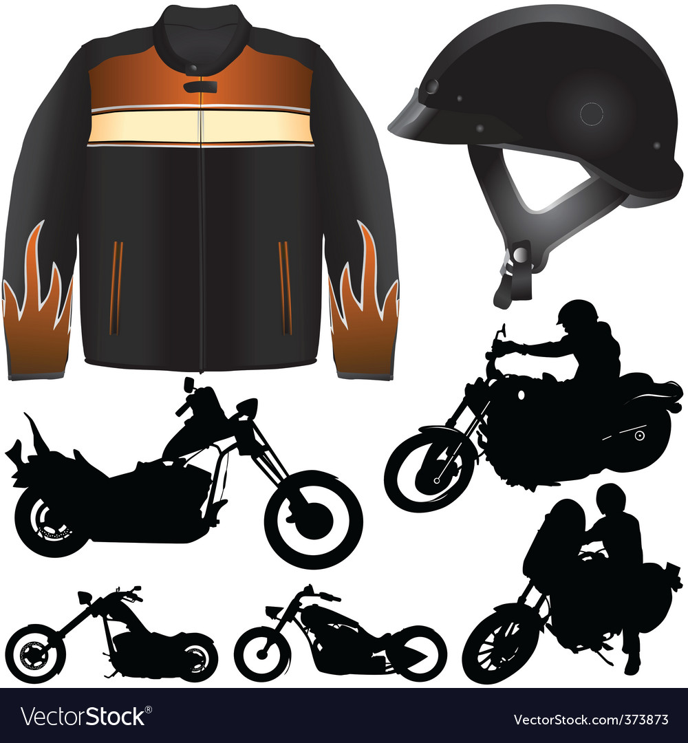 Chopper motorcycle vector | Price: 1 Credit (USD $1)