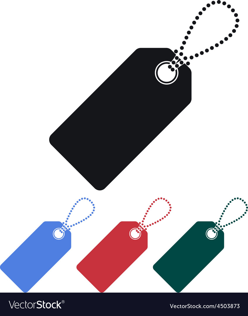Price tag icon vector | Price: 1 Credit (USD $1)