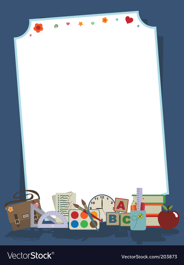 School stationery vector | Price: 1 Credit (USD $1)