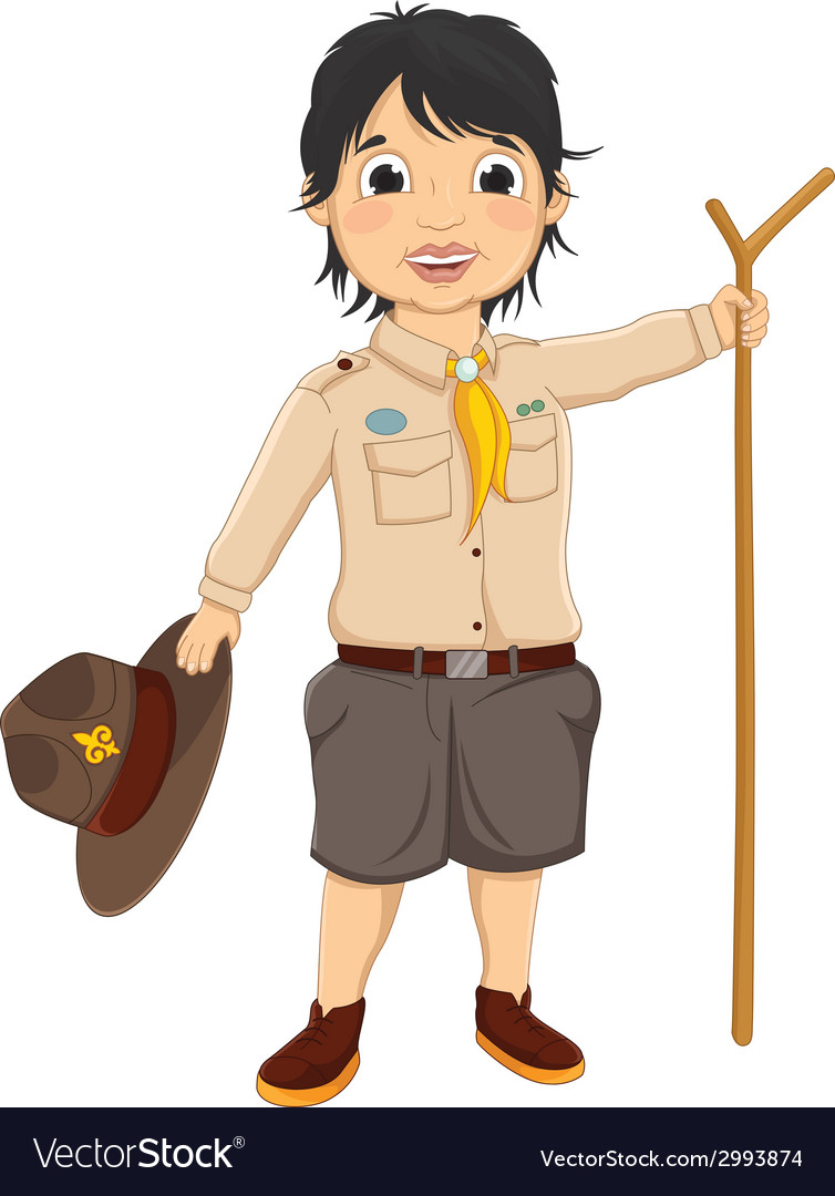 Boy scout vector | Price: 1 Credit (USD $1)