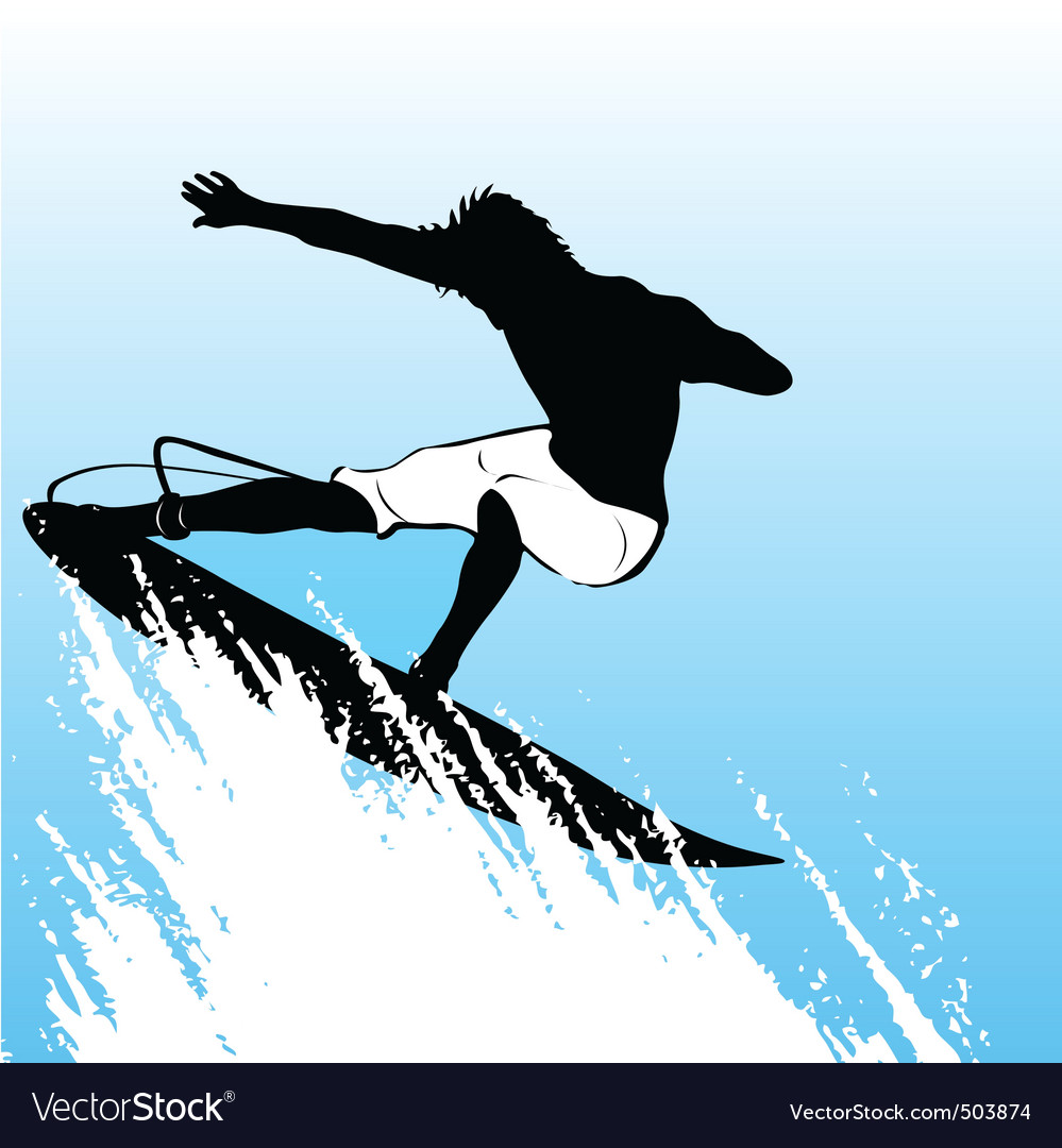 Surfing vector   Price: 1 Credit (USD $1)