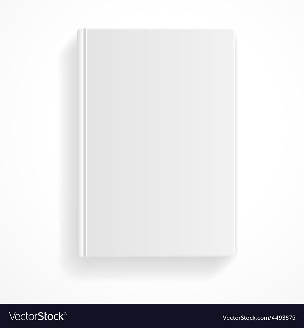 Book blank flat design vector | Price: 1 Credit (USD $1)
