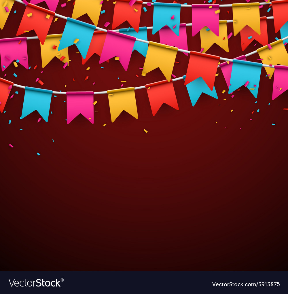 Party celebration background vector | Price: 1 Credit (USD $1)