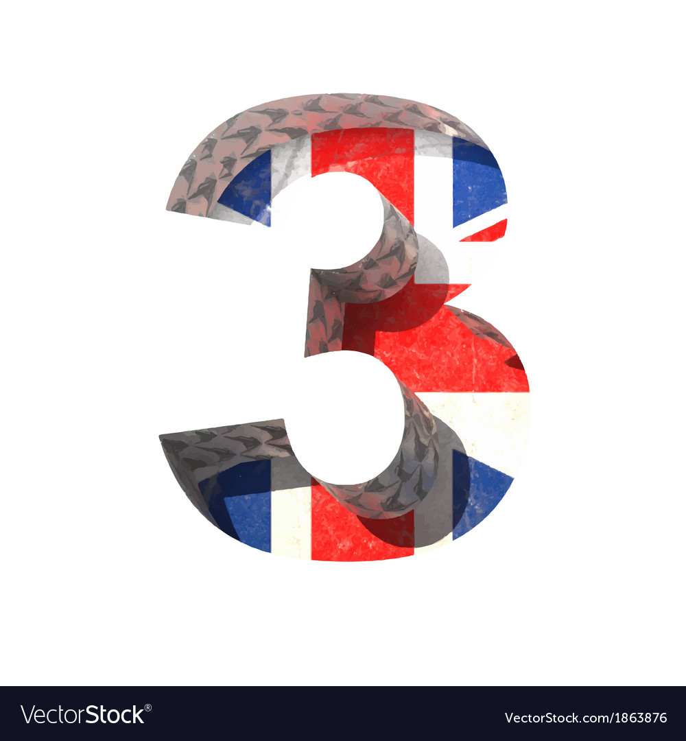 Great britain cutted figure 3 paste to any vector | Price: 1 Credit (USD $1)