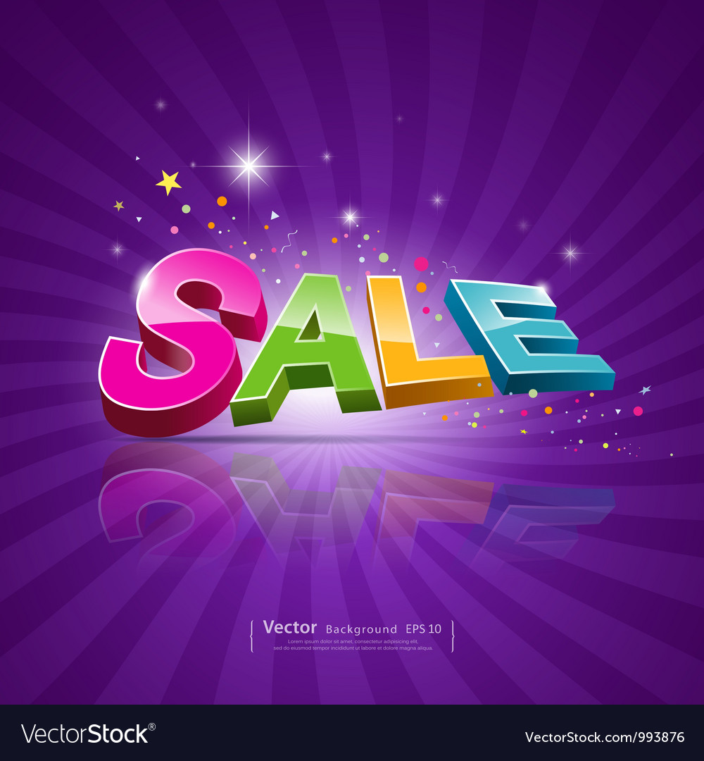 Sale message promotional products vector | Price: 1 Credit (USD $1)