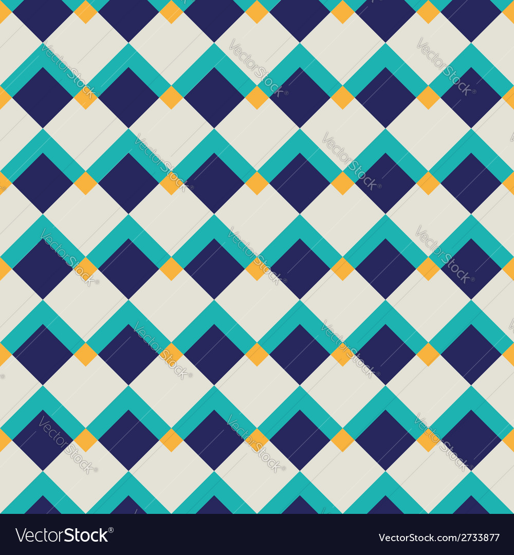 Fashion geometric pattern vector
