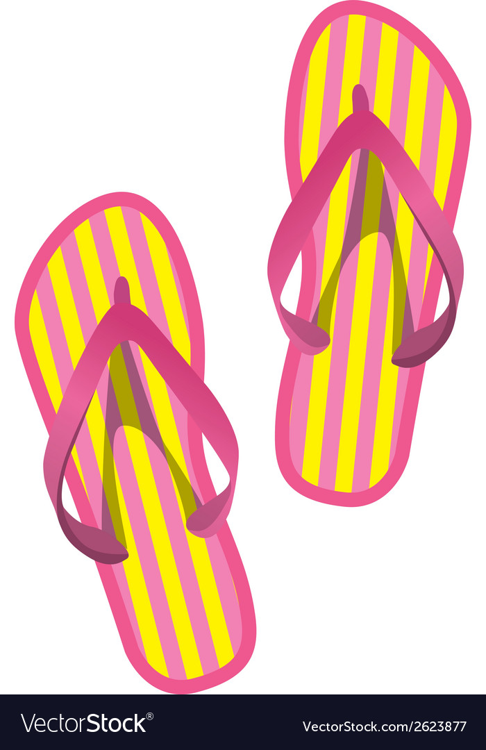 Flipflops v3 vector | Price: 1 Credit (USD $1)