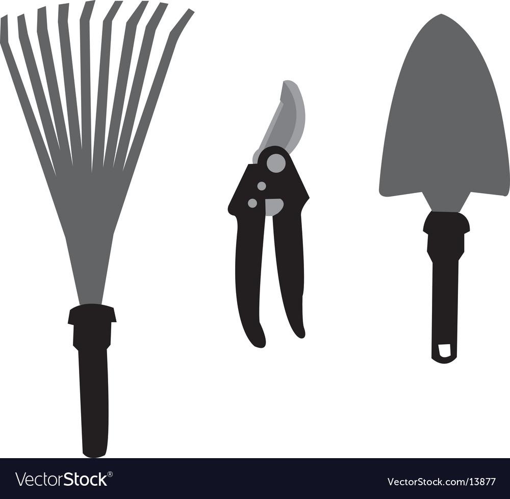 Garden tools vector | Price: 1 Credit (USD $1)