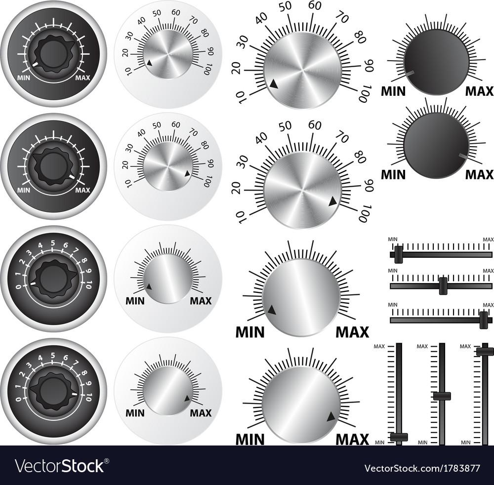 Potentiometer vector | Price: 1 Credit (USD $1)
