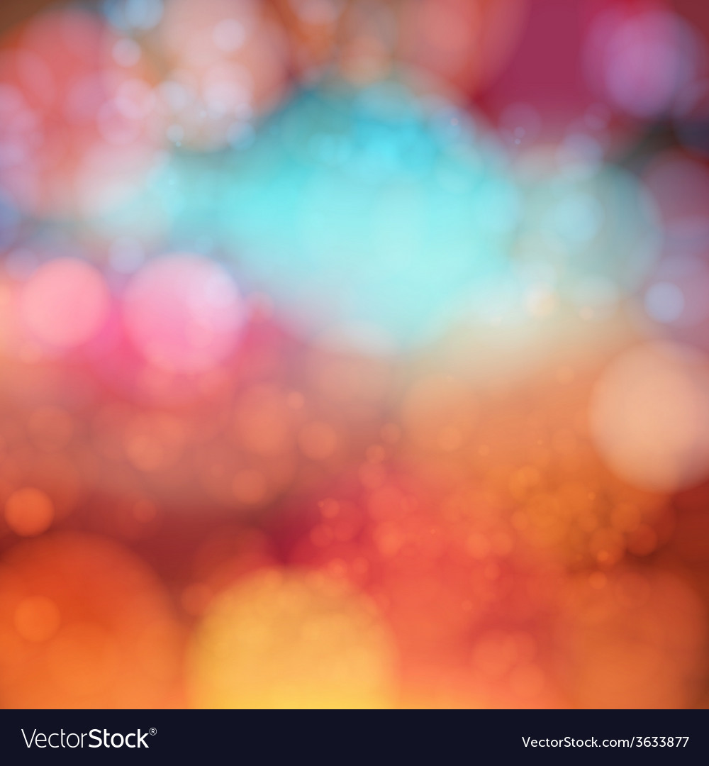Soft blurry background with bokeh effect vector | Price: 1 Credit (USD $1)