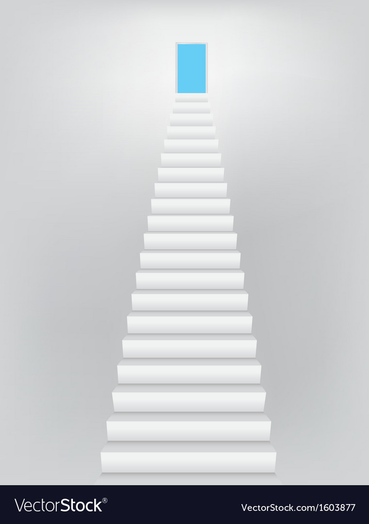 Stairway to the heaven door vector | Price: 1 Credit (USD $1)