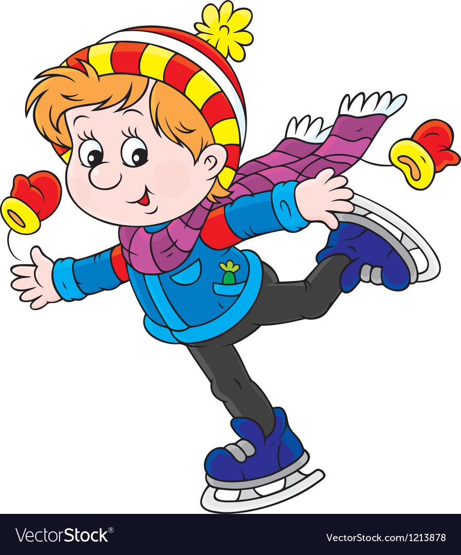 Little skater vector
