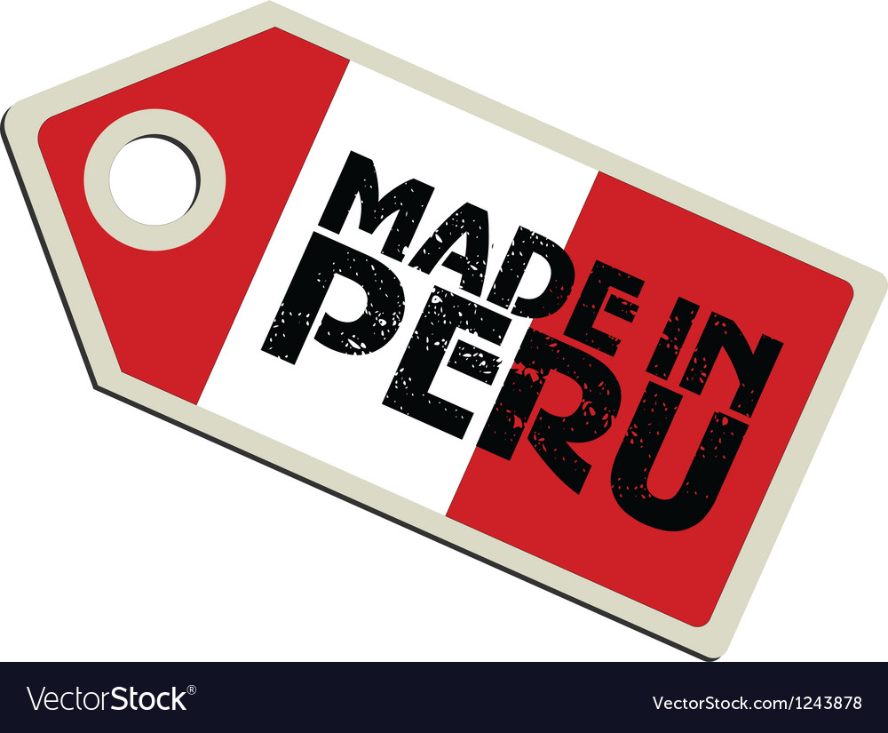 Made in peru vector | Price: 1 Credit (USD $1)