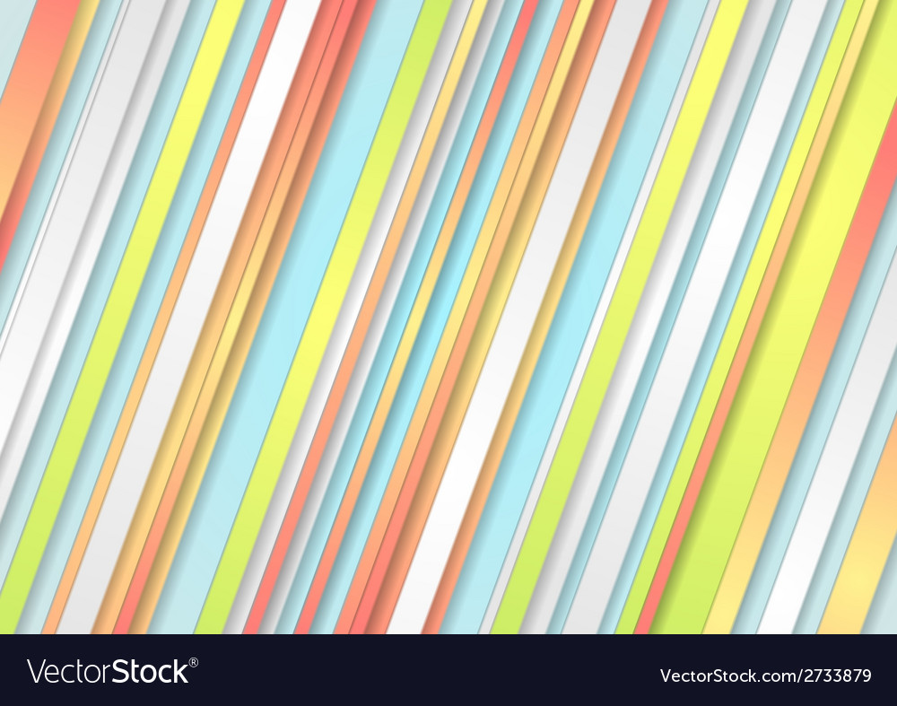 Pastel stripes abstract background vector | Price: 1 Credit (USD $1)