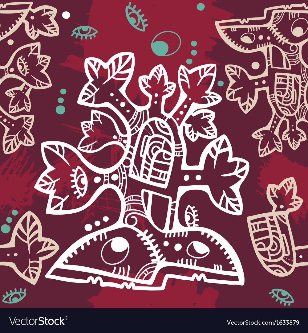 Seamless aztec vector   Price: 1 Credit (USD $1)