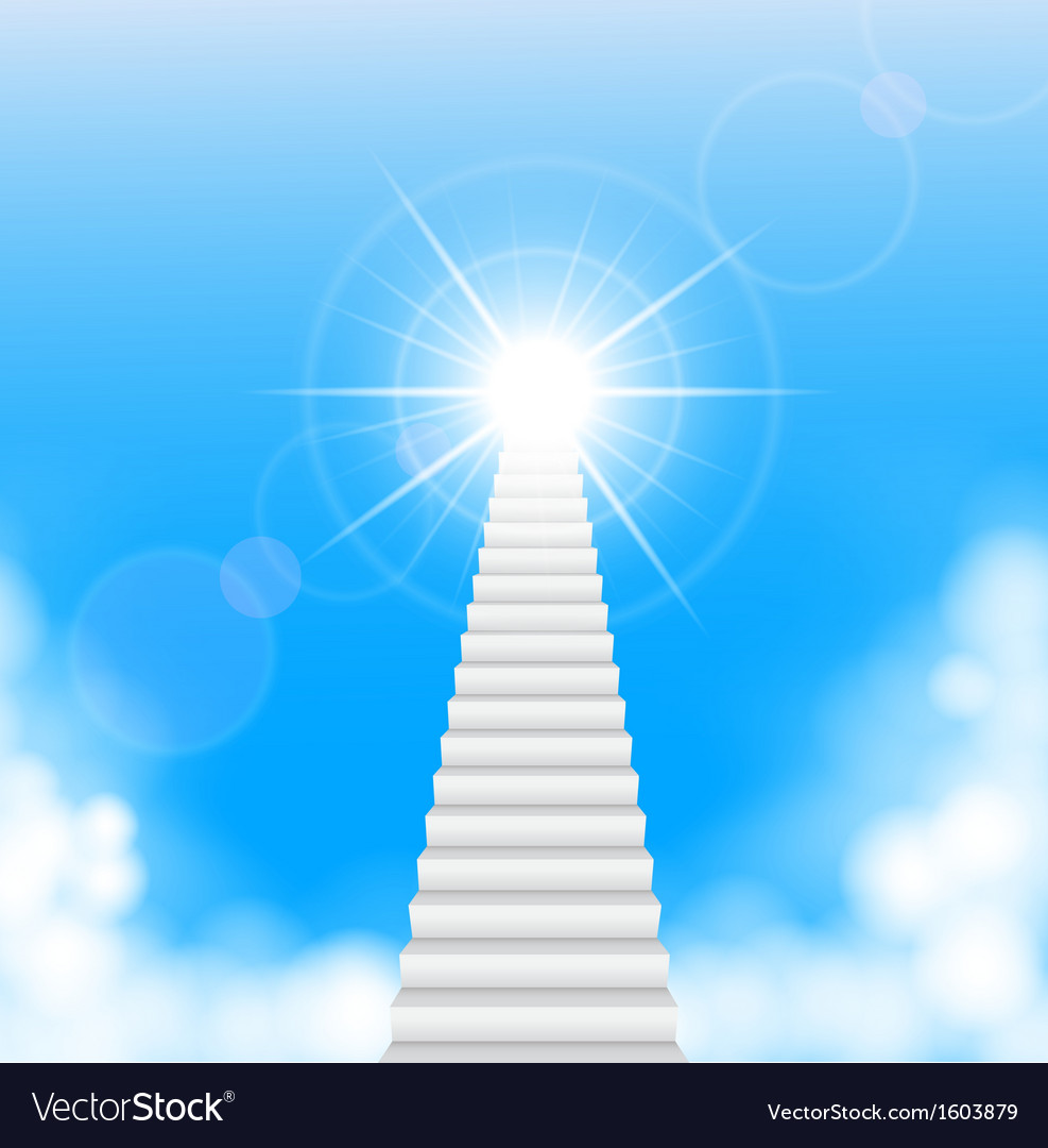 The stairway to heaven vector | Price: 1 Credit (USD $1)