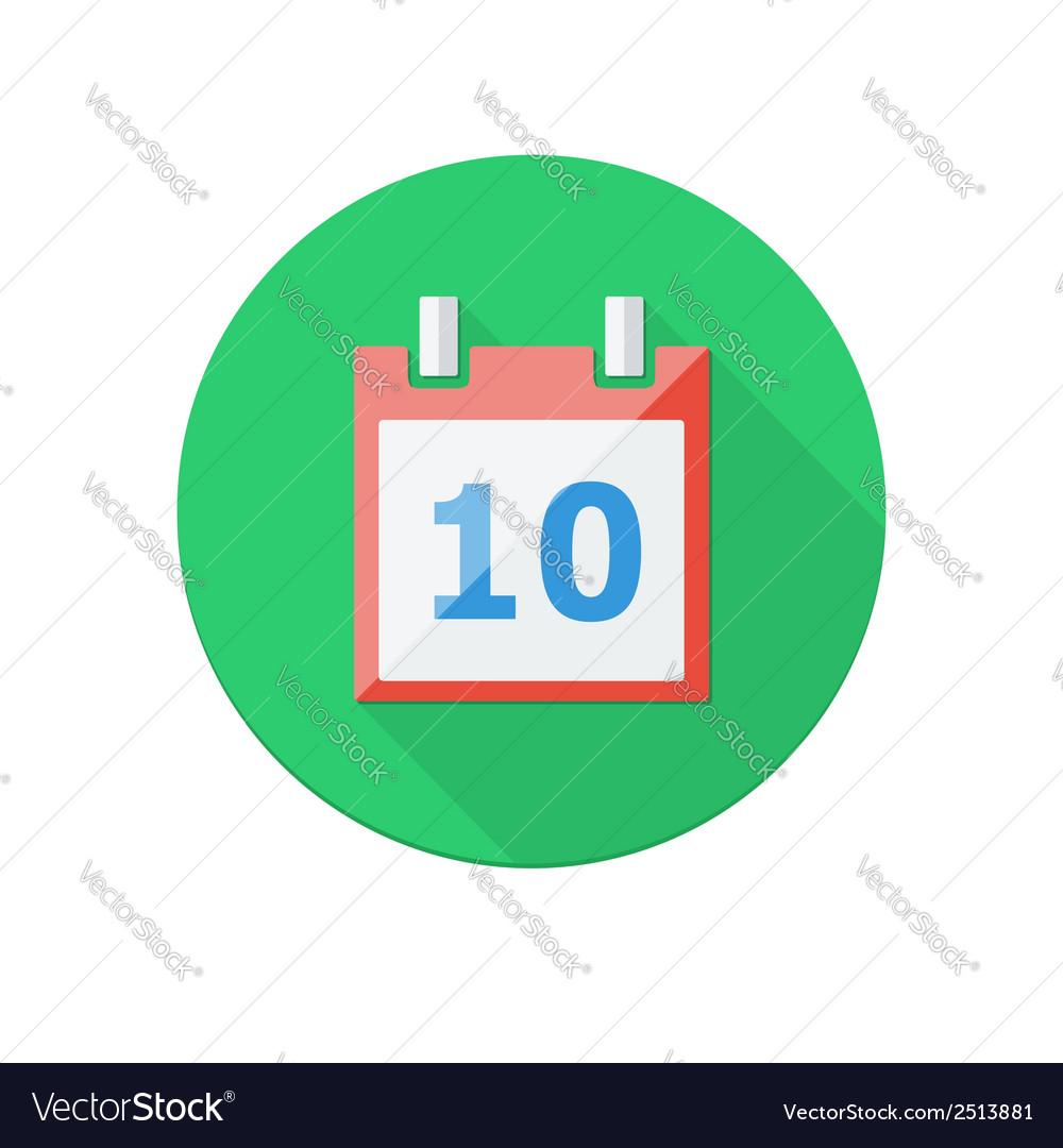 Calendar icon vector | Price: 1 Credit (USD $1)