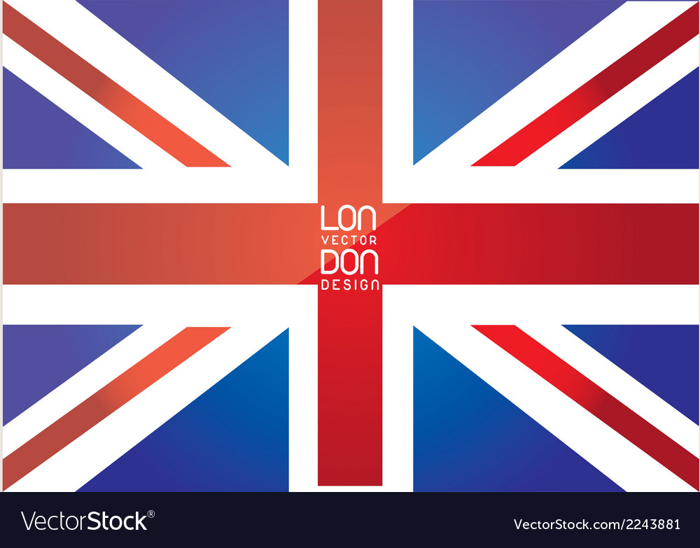 London flag vector | Price: 1 Credit (USD $1)