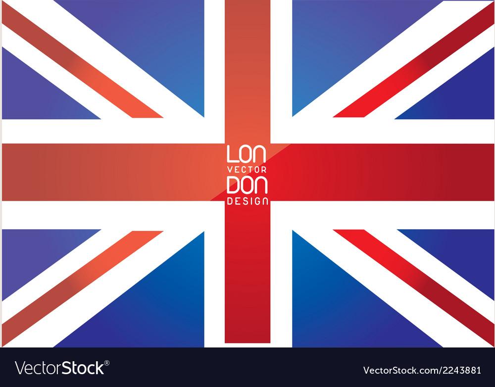 London flag vector | Price: 1 Credit (USD $1)