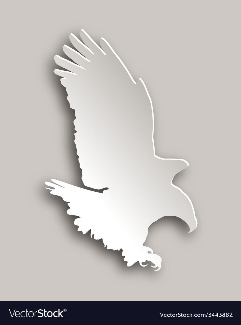 Bold eagle vector | Price: 1 Credit (USD $1)