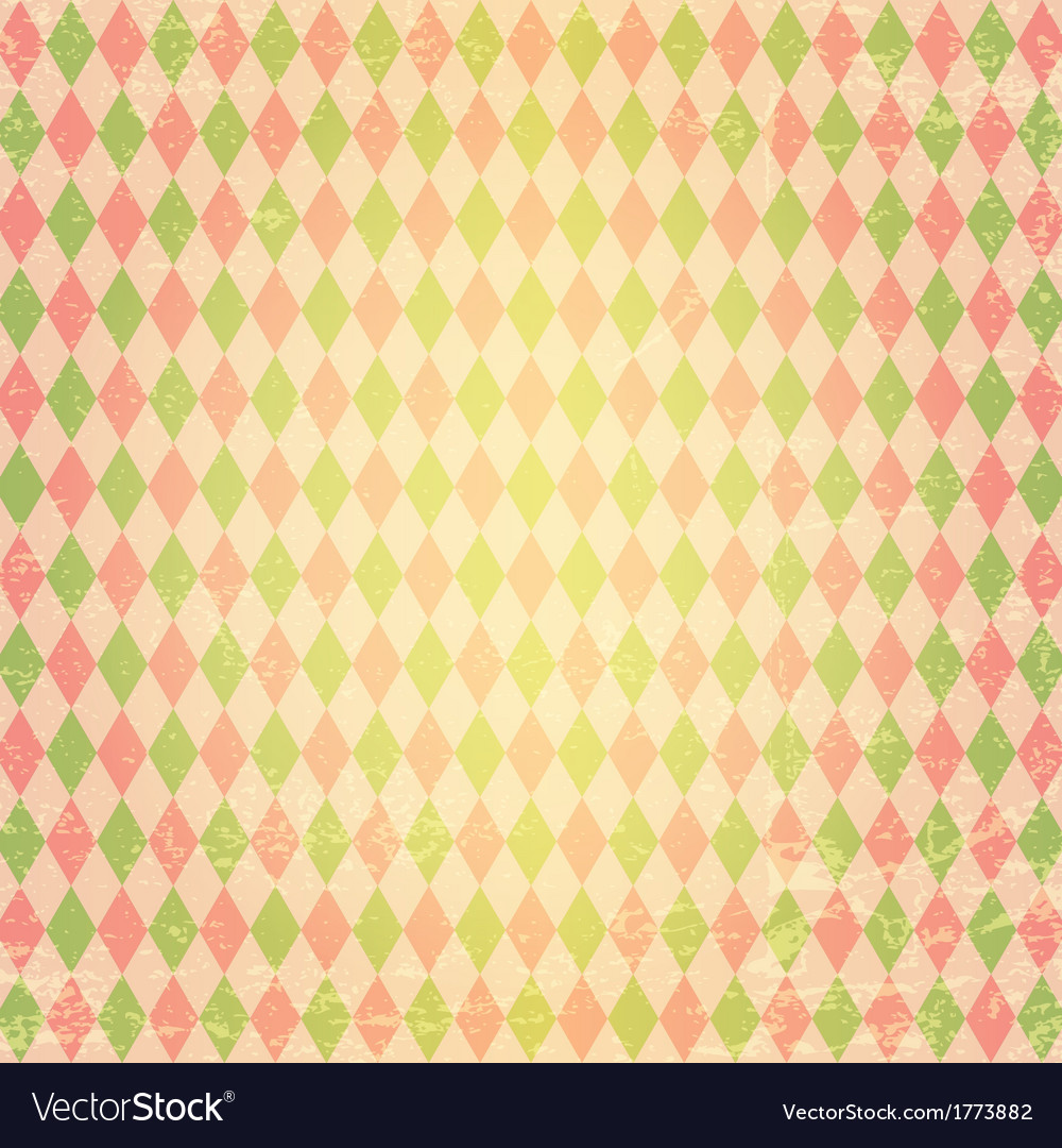 Geometric pattern with rhombuses vector | Price: 1 Credit (USD $1)