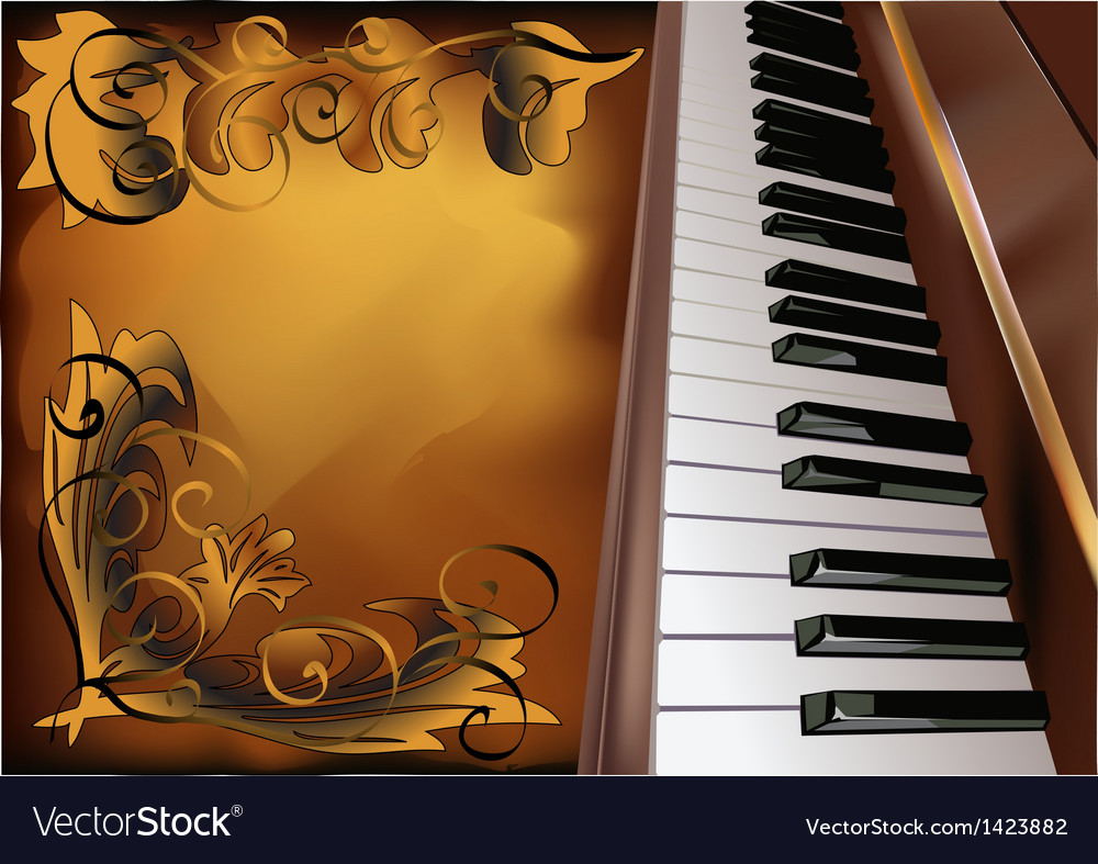Musical abstract background vector | Price: 1 Credit (USD $1)
