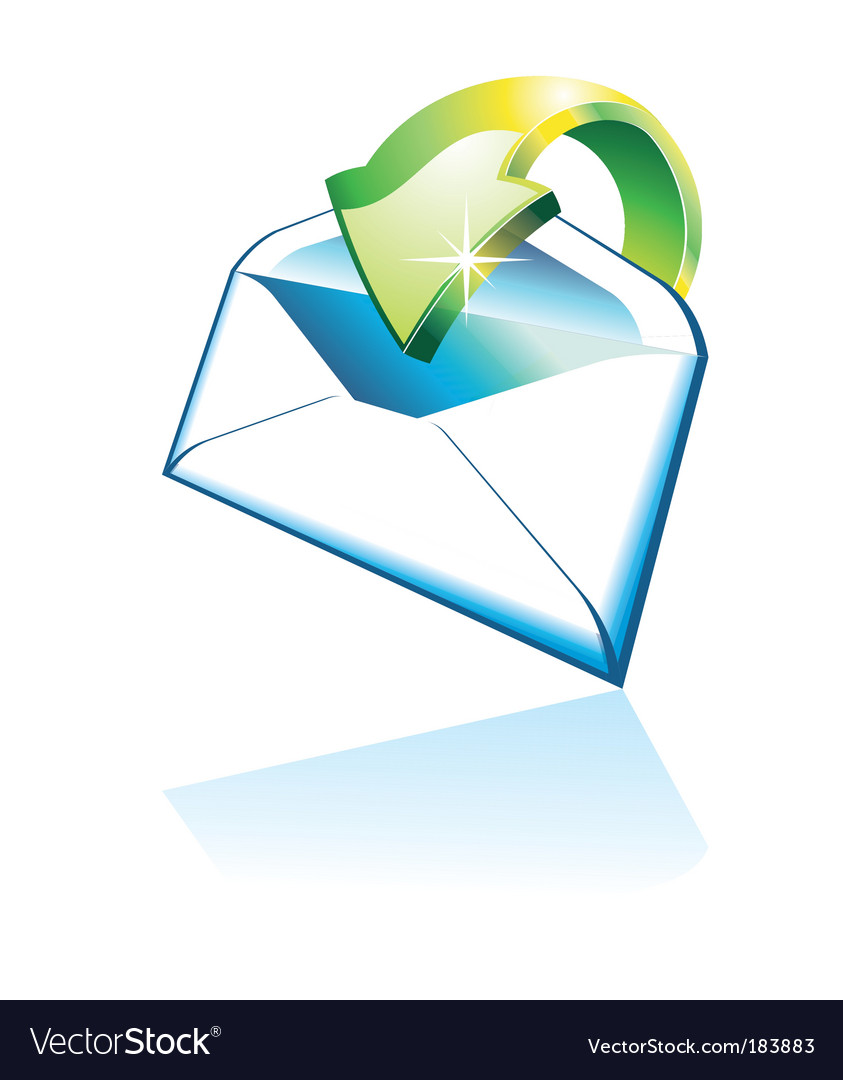 3d email icon vector | Price: 3 Credit (USD $3)