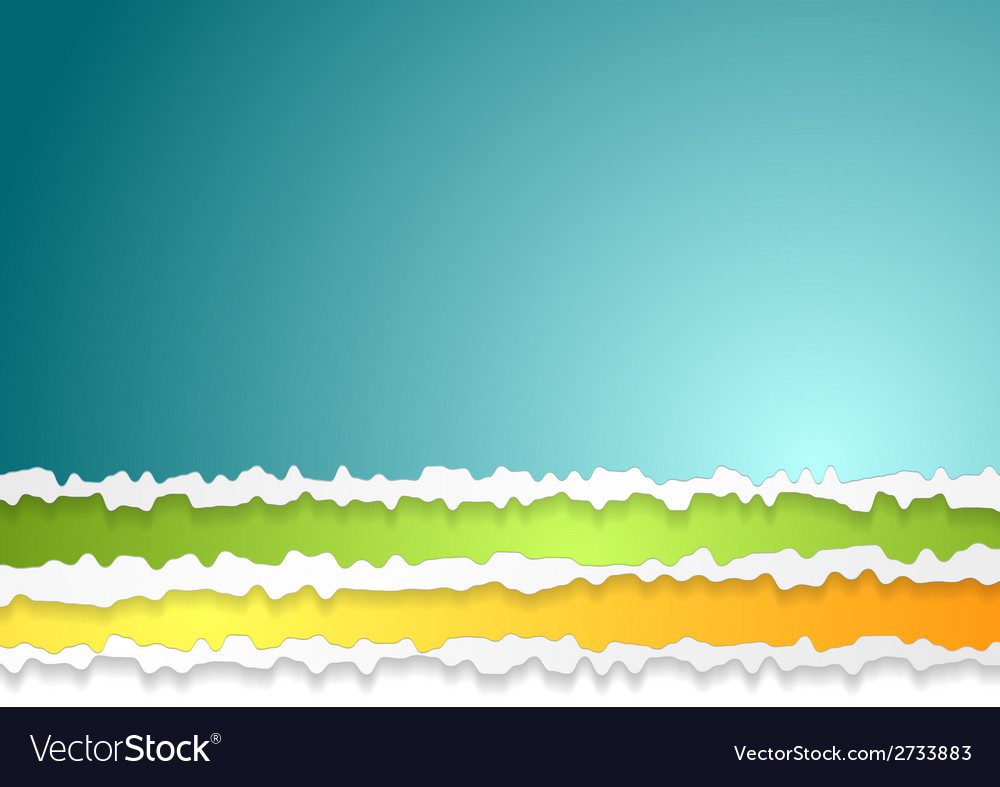 Ragged edge paper abstract background vector | Price: 1 Credit (USD $1)
