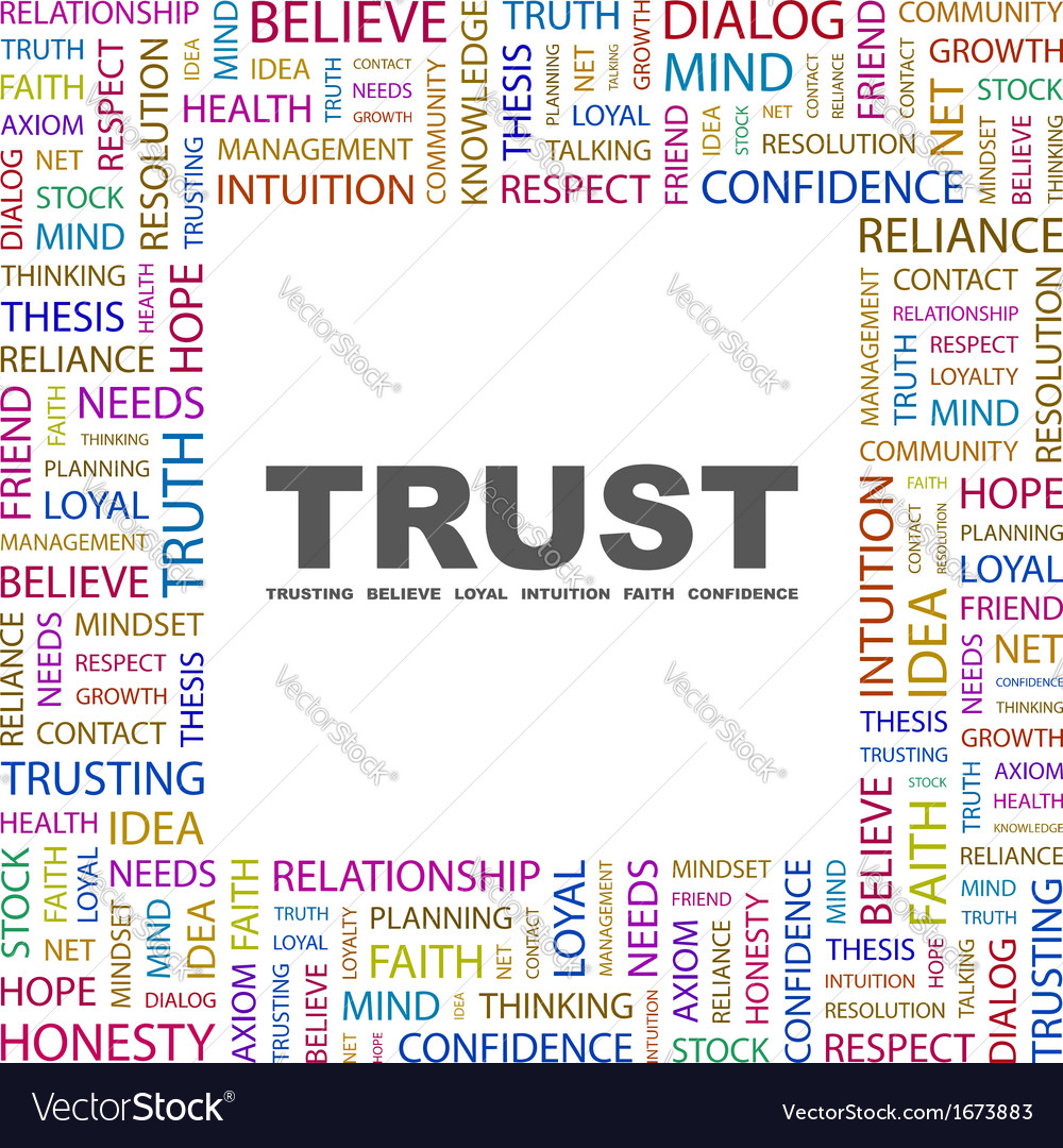 Trust vector | Price: 1 Credit (USD $1)
