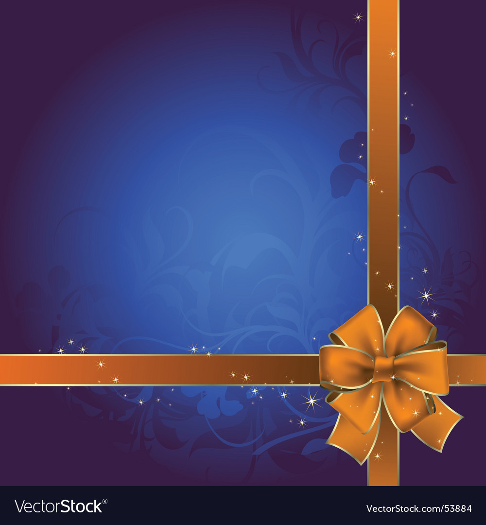 Bow celebrate vector | Price: 1 Credit (USD $1)