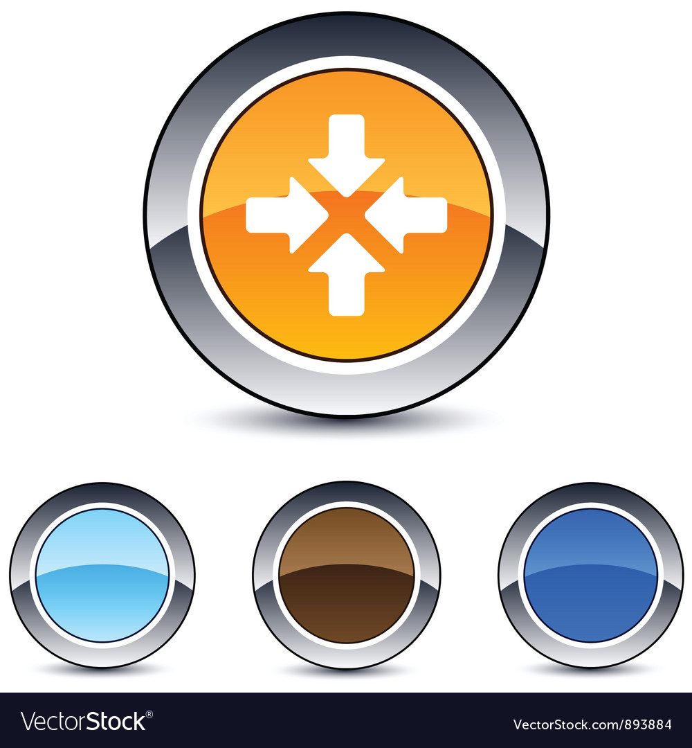 Click here round button vector | Price: 1 Credit (USD $1)