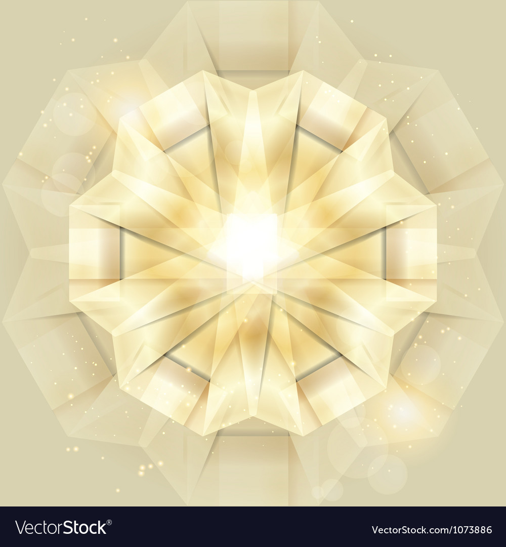 Abstract gold shiny background vector | Price: 1 Credit (USD $1)