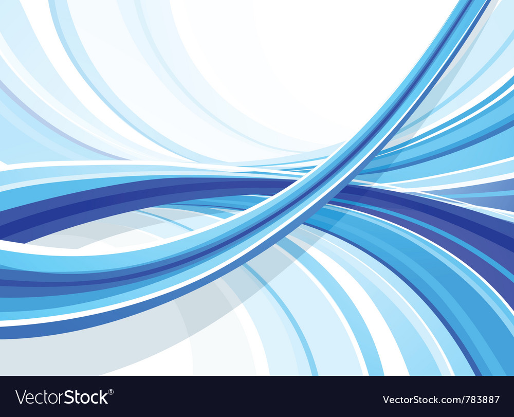 Blue curved background vector | Price: 1 Credit (USD $1)
