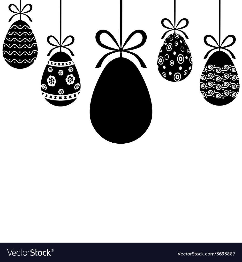 Egg hanging vector | Price: 1 Credit (USD $1)