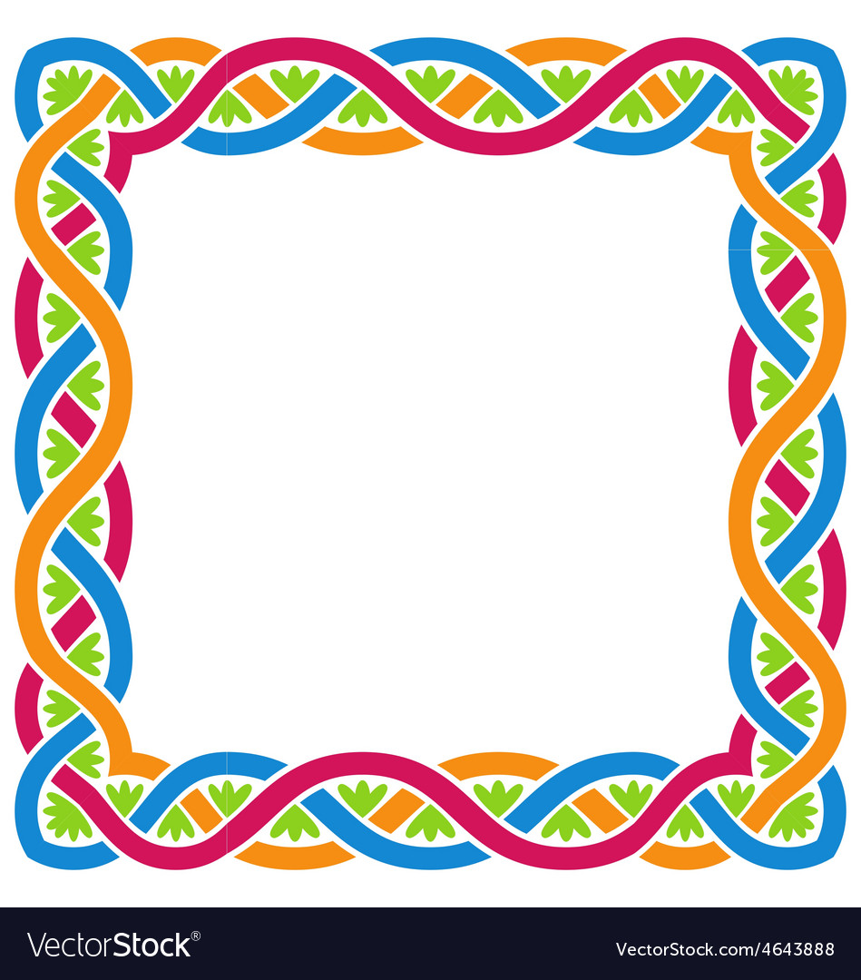 Abstract celtic weaving framework vector | Price: 1 Credit (USD $1)