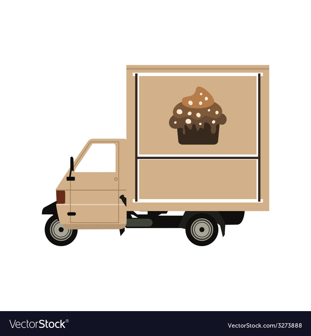 Coffee car2 vector | Price: 1 Credit (USD $1)