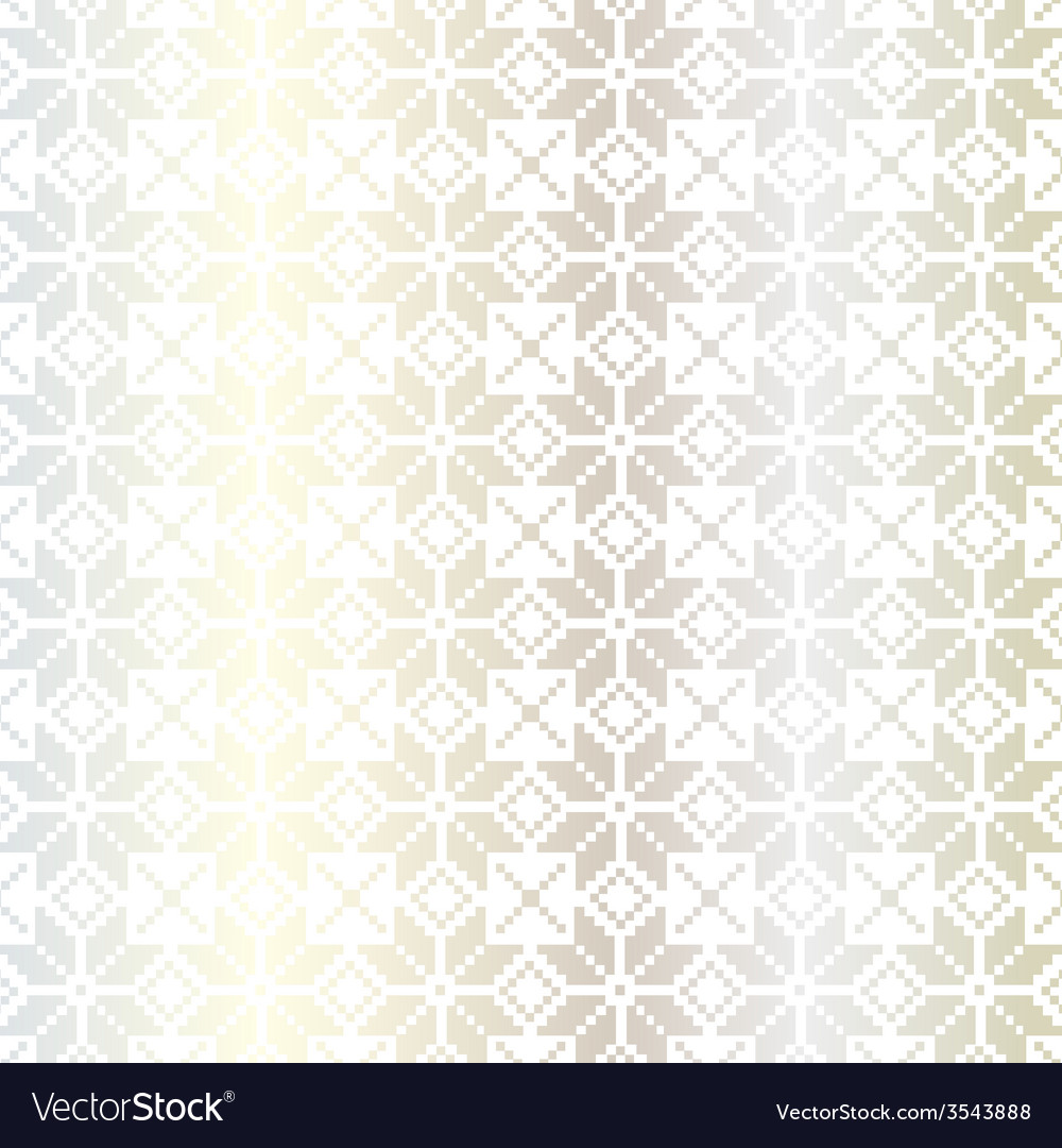 Silver nordic pattern vector | Price: 1 Credit (USD $1)