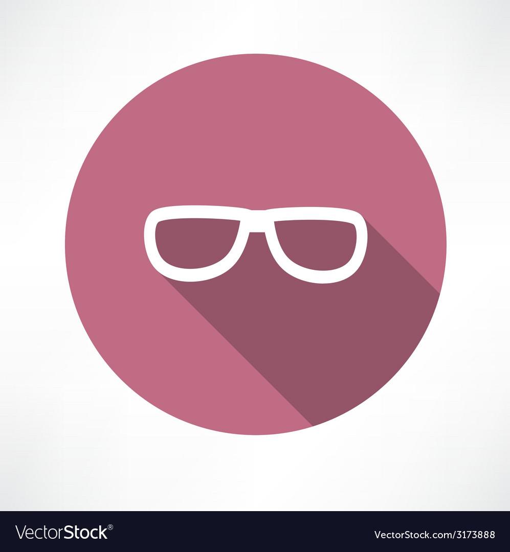 Sunglasses icon vector | Price: 1 Credit (USD $1)