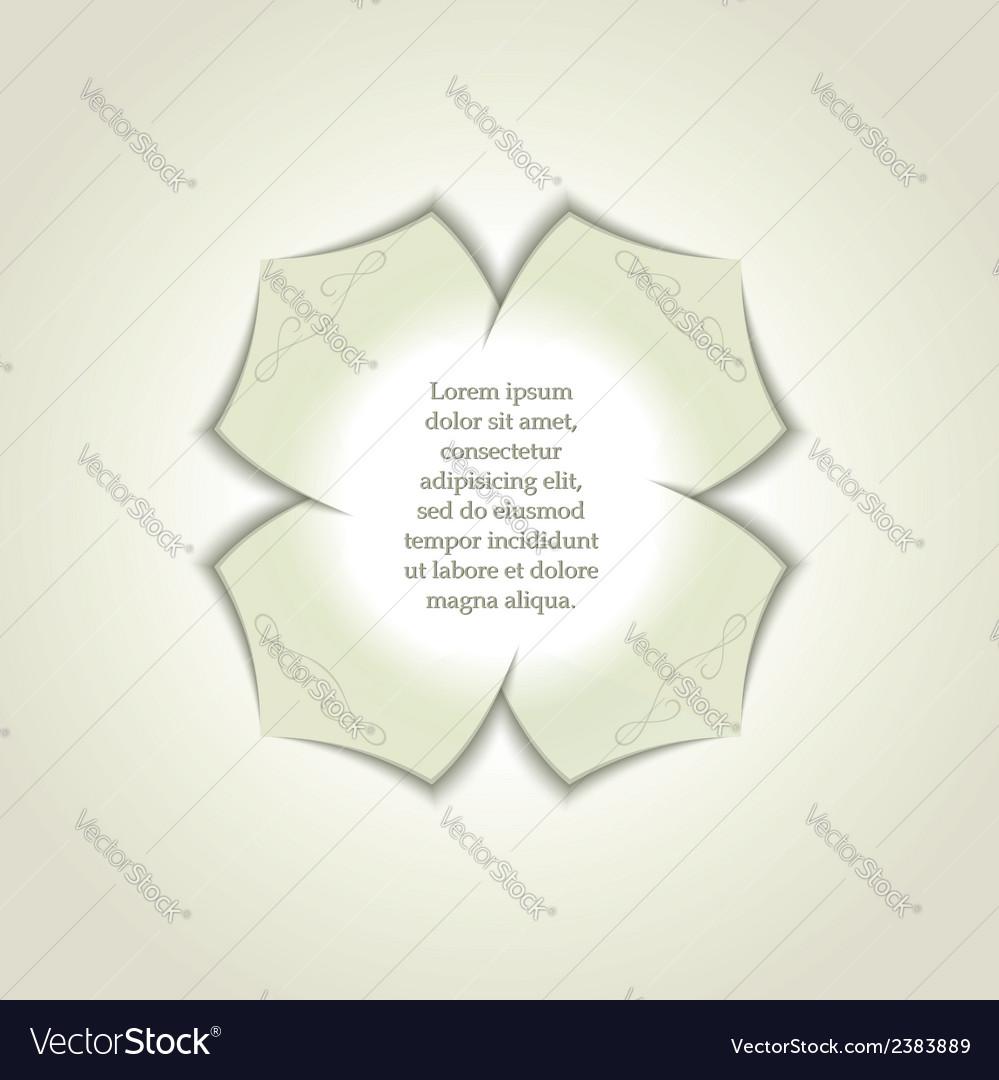 3d gypsum rosette vector | Price: 1 Credit (USD $1)