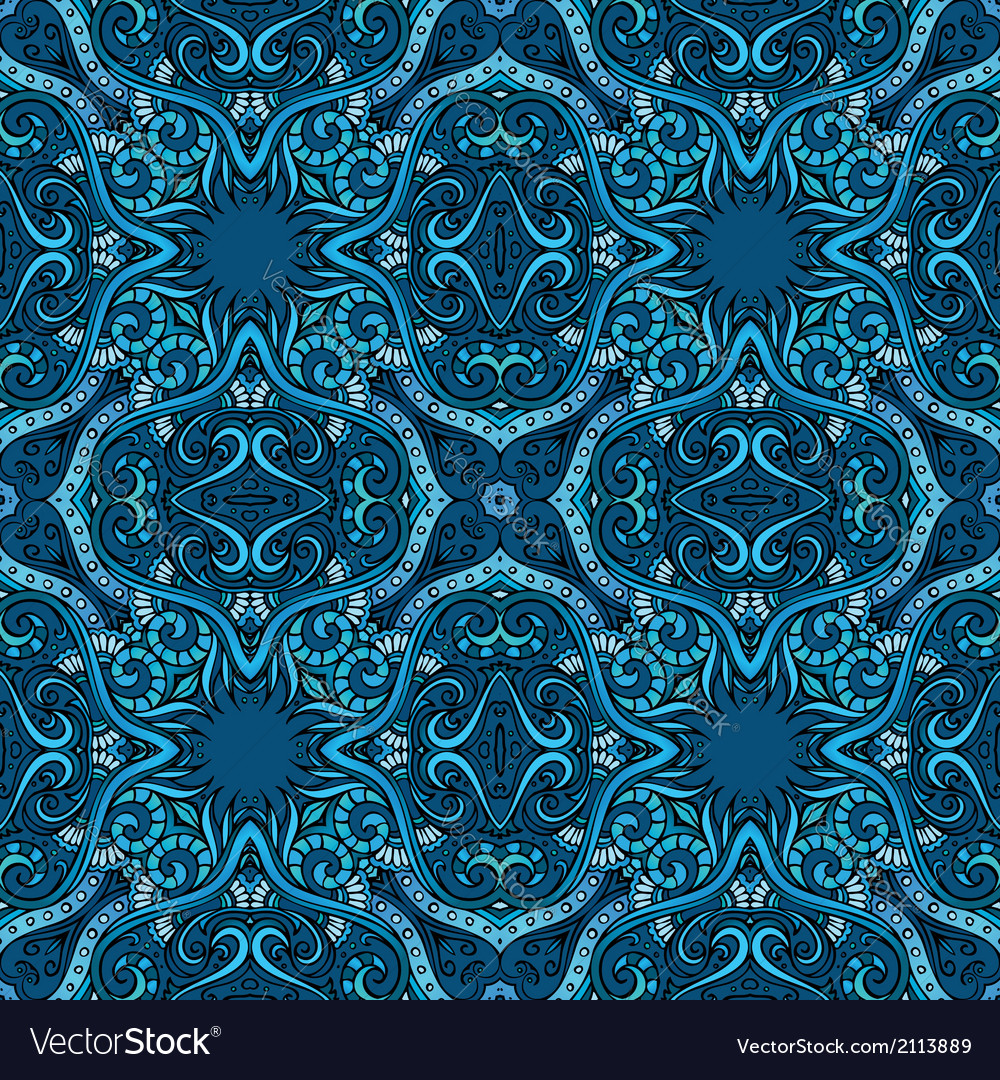 Abstract ornamental ethnic background vector | Price: 1 Credit (USD $1)