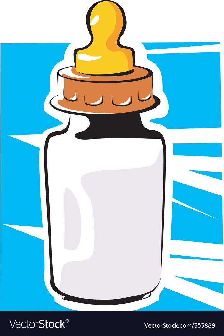 Feeding bottle vector | Price: 1 Credit (USD $1)