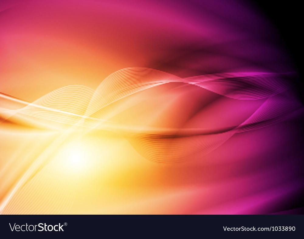 Bright wavy background vector | Price: 1 Credit (USD $1)